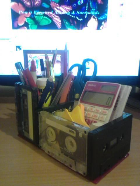 Geeky Desk Organiser